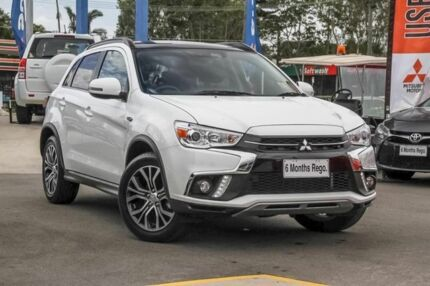 2018 Mitsubishi ASX XC MY18 XLS 2WD White 6 Speed Constant Variable Wagon Aspley Brisbane North East Preview