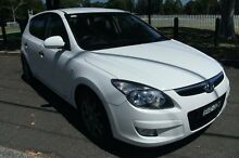 2011 Hyundai i30 FD MY11 Trophy White 5 Speed Manual Hatchback Homebush Strathfield Area Preview