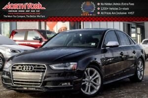 2014 Audi S4 Progressiv Quattro|Manual|Leather|Heat Frnt.Seats|