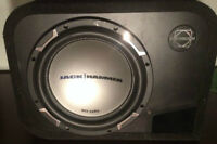 "MTX 10"" JackHammer sub in ported box"