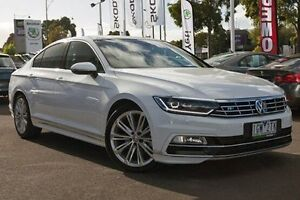 2016 Volkswagen Passat 3C (B8) MY16 140TDI DSG Highline White 6 Speed Sports Automatic Dual Clutch Nunawading Whitehorse Area Preview