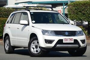 2012 Suzuki Grand Vitara JB MY13 Urban 2WD Pearl White 4 Speed Automatic Wagon Acacia Ridge Brisbane South West Preview