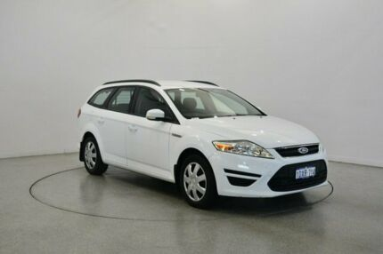 2012 Ford Mondeo MC LX White 6 Speed Sports Automatic Wagon Victoria Park Victoria Park Area Preview