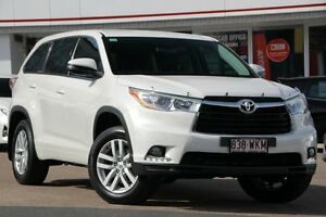 2014 Toyota Kluger GSU50R GX 2WD Pearl White 6 Speed Sports Automatic Wagon Woolloongabba Brisbane South West Preview