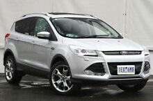 2015 Ford Kuga TF MY15 Titanium AWD Silver 6 Speed Sports Automatic Wagon Upper Ferntree Gully Knox Area Preview
