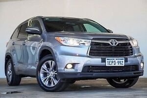 2014 Toyota Kluger GSU55R GXL AWD Silver 6 Speed Sports Automatic Wagon Embleton Bayswater Area Preview