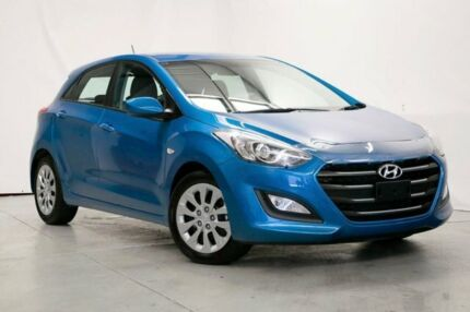 2016 Hyundai i30 GD4 Series II MY17 Active Blue 6 Speed Sports Automatic Hatchback Wynnum Brisbane South East Preview