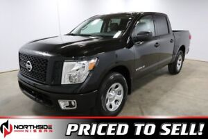 2019 Nissan Titan 4X4 S CREW CAB Back up camera, Bluetooth, Appl