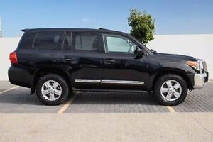 2013 Toyota Landcruiser VDJ200R MY12 Sahara Black 6 Speed Sports Automatic Wagon Wangara Wanneroo Area Preview