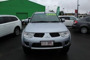 2011 Mitsubishi Challenger PB (KH) MY12 LS Silver 5 Speed Sports Automatic Wagon