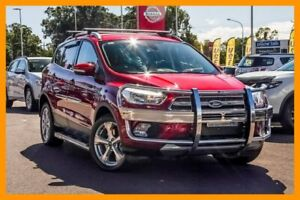 2017 Ford Escape ZG 2018.00MY Trend AWD Red 6 Speed Sports Automatic Wagon Aspley Brisbane North East Preview