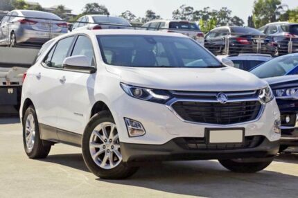 2017 Holden Equinox EQ MY18 LS+ FWD White 6 Speed Sports Automatic Wagon Mount Gravatt Brisbane South East Preview