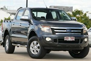 2013 Ford Ranger PX XLS Double Cab Grey 6 Speed Manual Utility Kedron Brisbane North East Preview