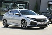 2018 Honda Civic 10th Gen MY18 VTI-LX Silver 1 Speed Constant Variable Hatchback Indooroopilly Brisbane South West Preview