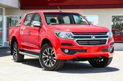2017 Holden Colorado RG MY18 LTZ Pickup Crew Cab Red 6 Speed Sports Automatic Utility