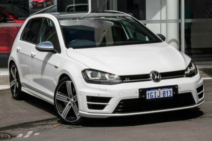 2015 Volkswagen Golf VII MY15 R DSG 4MOTION White 6 Speed Sports Automatic Dual Clutch Hatchback