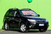 2008 Subaru Forester S3 MY09 XS AWD Premium Black 5 Speed Manual Wagon Ringwood East Maroondah Area Preview