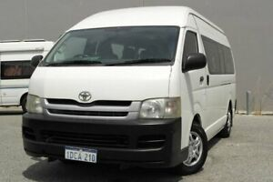 2009 Toyota HiAce KDH223R Commuter White 5 Speed Manual Bus Beckenham Gosnells Area Preview