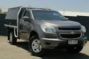 2013 Holden Colorado RG MY13 LX 4x2 Grey 5 Speed Manual Cab Chassis Slacks Creek Logan Area Preview