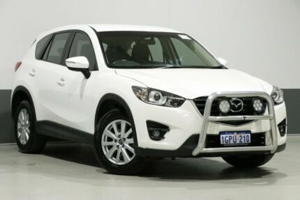 2016 Mazda CX-5 MY15 Maxx Sport (4x4) White 6 Speed Automatic Wagon Bentley Canning Area Preview