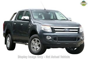 2014 Ford Ranger PX XLT Double Cab Grey 6 Speed Manual Utility Wangara Wanneroo Area Preview