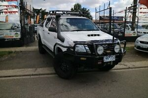 2013 Toyota Hilux KUN26R MY14 SR (4x4) White 5 Speed Automatic Dual Cab Pick-up Brooklyn Brimbank Area Preview