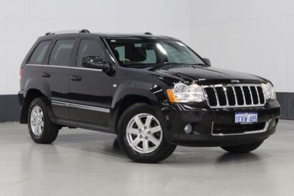 2008 Jeep Grand Cherokee WH Limited (4x4) Black 5 Speed Automatic Wagon Bentley Canning Area Preview
