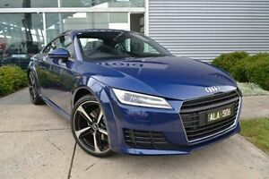 2016 Audi TT FV MY16 Sport S tronic Blue 6 Speed Sports Automatic Dual Clutch Coupe Burwood Whitehorse Area Preview