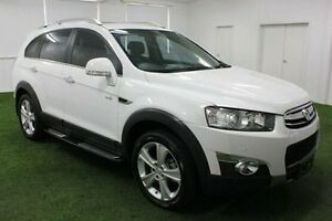 2013 Holden Captiva CG MY13 7 AWD LX White 6 Speed Sports Automatic Wagon Moonah Glenorchy Area Preview