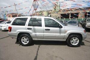 2004 Jeep Grand Cherokee WG MY2004 Laredo Silver 5 Speed Automatic Wagon Kingsville Maribyrnong Area Preview