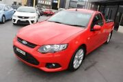 2013 Ford Falcon FG MkII XR6 Super Cab Red 6 Speed Sports Automatic Cab Chassis Smeaton Grange Camden Area Preview