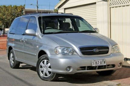 2005 Kia Carnival MY04 LS Silver 4 Speed Automatic Wagon Glenelg Holdfast Bay Preview