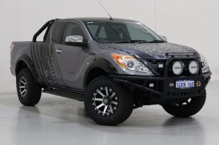 2013 Mazda BT-50 MY13 XTR (4x4) Grey 6 Speed Automatic Freestyle Utility Bentley Canning Area Preview