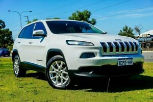 2014 Jeep Cherokee KL Sport White 9 Speed Sports Automatic Wagon