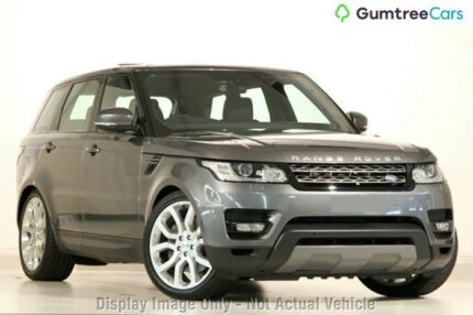 2016 Land Rover Range Rover Sport L494 16.5MY TdV6 CommandShift SE Grey 8 Speed Sports Automatic Osborne Park Stirling Area Preview