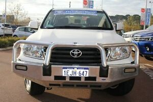 2012 Toyota Landcruiser URJ202R MY12 GXL Glacier White 6 Speed Sports Automatic Wagon Myaree Melville Area Preview
