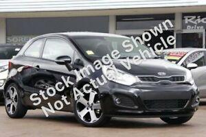 2012 Kia Rio UB MY12 SLS Black 6 Speed Manual Hatchback Tweed Heads Tweed Heads Area Preview