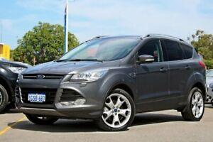 2013 Ford Kuga TF Titanium AWD Grey 6 Speed Sports Automatic Wagon Midland Swan Area Preview