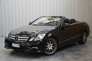 2011 Mercedes-Benz E250 CGI A207 Avantgarde Black 5 Speed Sports Automatic Cabriolet Port Melbourne Port Phillip Preview