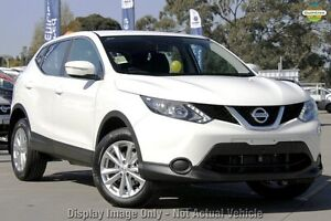 2016 Nissan Qashqai J11 ST White 1 Speed Constant Variable Wagon Osborne Park Stirling Area Preview