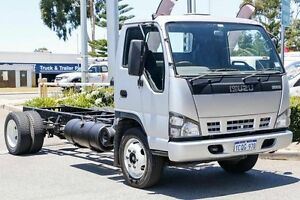 2007 Isuzu N Series White Welshpool Canning Area Preview