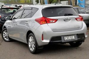 2014 Toyota Corolla ZRE182R Ascent Sport S-CVT Silver 7 Speed Constant Variable Hatchback