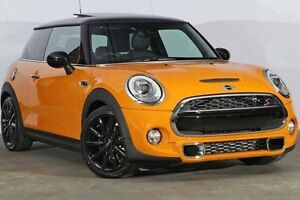 2016 Mini Hatch F56 Cooper S Volcanic Orange 6 Speed Sports Automatic Hatchback Alexandria Inner Sydney Preview