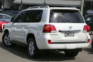 2012 Toyota Landcruiser URJ202R MY12 Sahara Crystal Pearl 6 Speed Sports Automatic Wagon Windsor Hawkesbury Area Preview