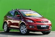 2008 Mazda CX-7 ER1031 MY07 Luxury Red 6 Speed Sports Automatic Wagon Ringwood East Maroondah Area Preview