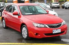 2007 Subaru Impreza MY08 R (AWD) Red 4 Speed Automatic Hatchback Ringwood East Maroondah Area Preview