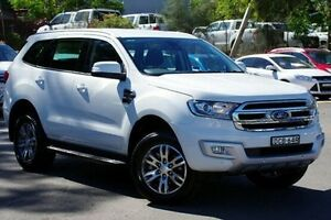 2015 Ford Everest UA Trend White 6 Speed Sports Automatic Wagon Blacktown Blacktown Area Preview