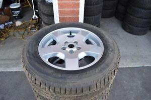 Land Rover LR3 255/60/18 Pirelli Snows On Alloys 75% Tread
