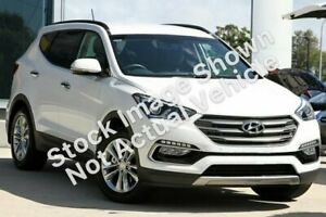 2015 Hyundai Santa Fe DM3 MY16 Elite White 6 Speed Sports Automatic Wagon Gympie Gympie Area Preview