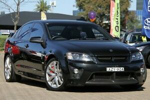 2007 Holden Special Vehicles Clubsport E Series R8 Black 6 Speed Auto Active Sequential Sedan Zetland Inner Sydney Preview